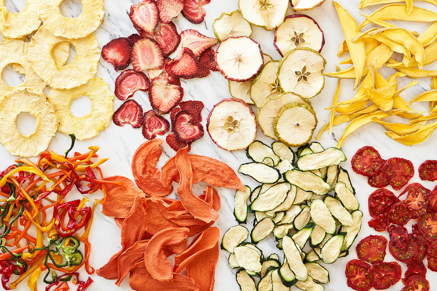 Dried Fruit and Vegetable Snack